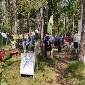 Invigning av Saxtorpsskogen